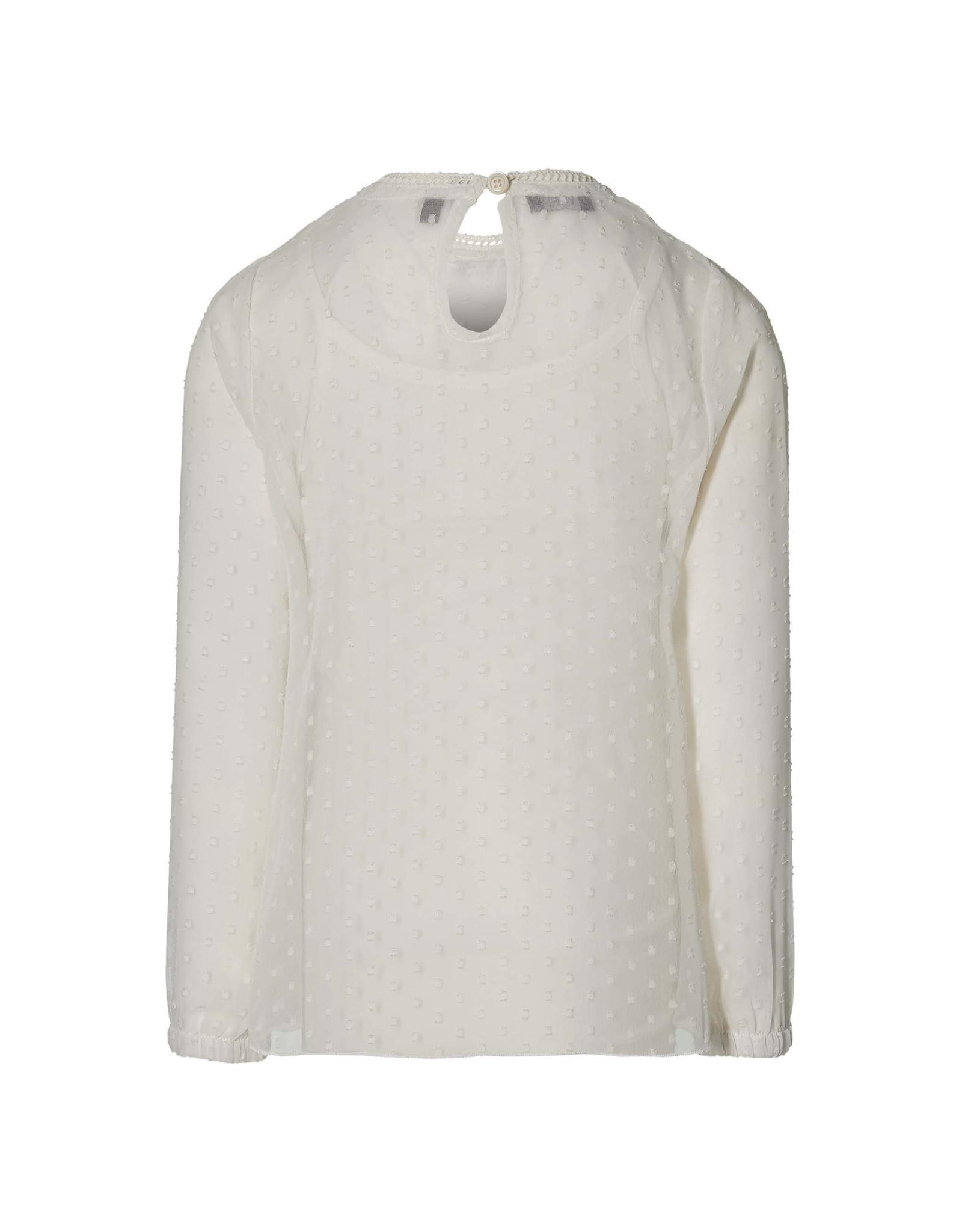 LEVV Levv meiden blouse Marion Off White