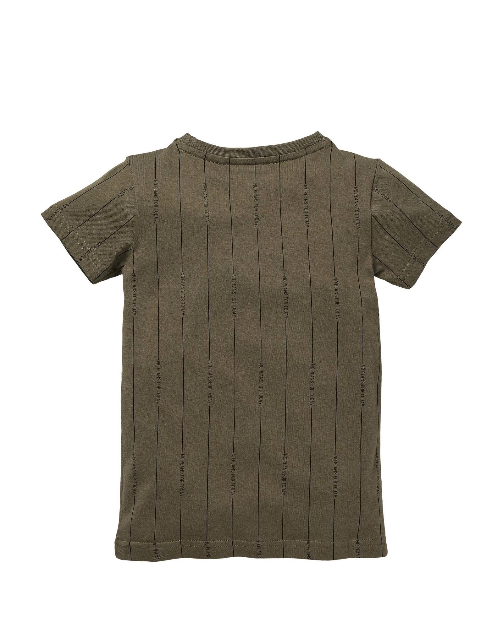LEVV Levv jongetjes t-shirt Nardo Olive