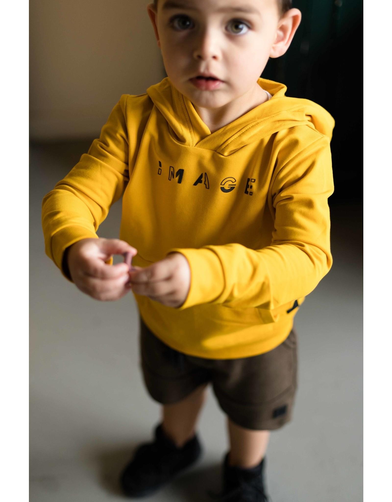 LEVV Levv jongetjes hoodie Neo Old Yellow