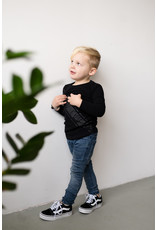 LEVV Levv jongetjes shirt Natan Black