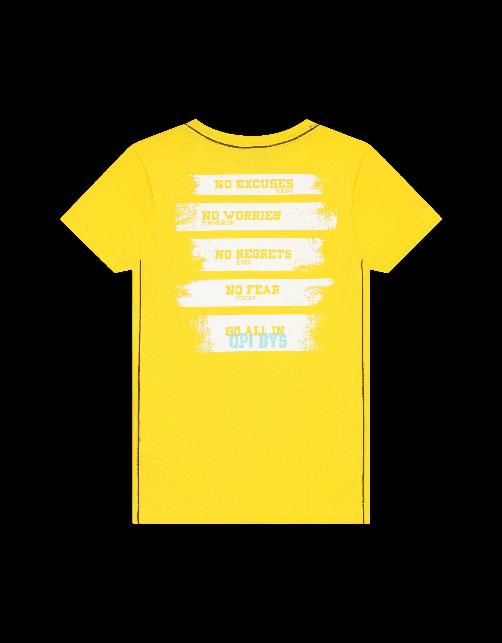 Quapi Quapi baby jongens t-shirt Berry Empire Yellow