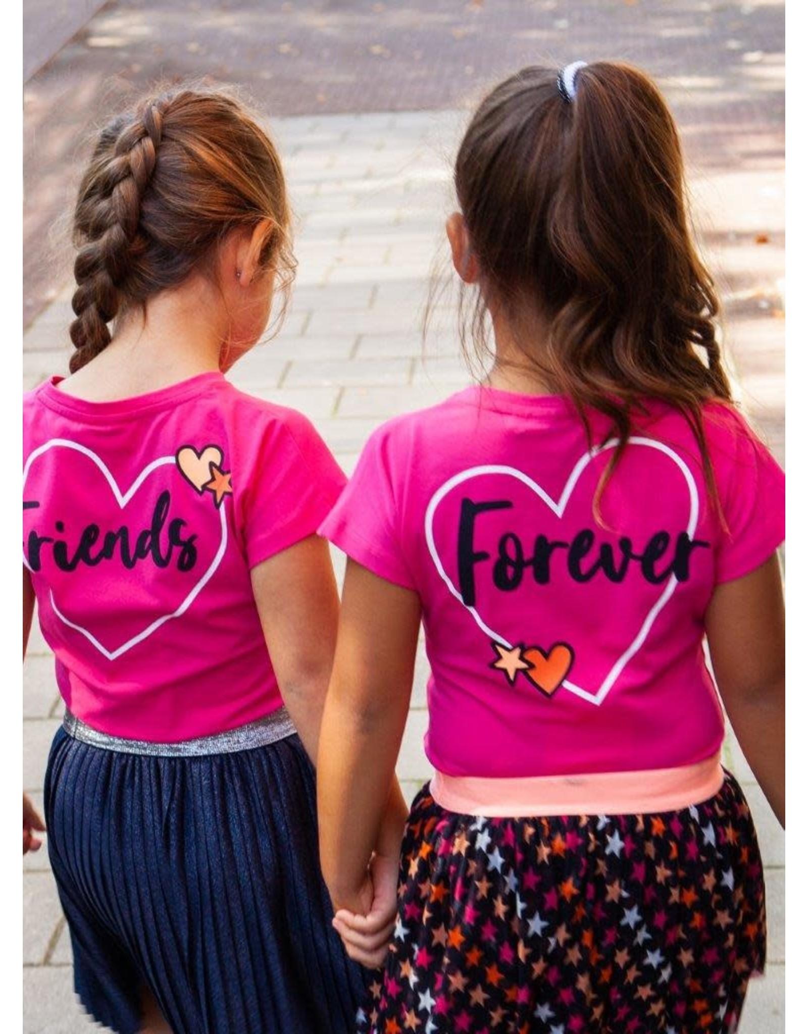 O'Chill O'Chill meiden t-shirt Fleur Pink