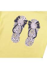 Dirkje Dirkje baby meisjes t-shirt SHOES Yellow