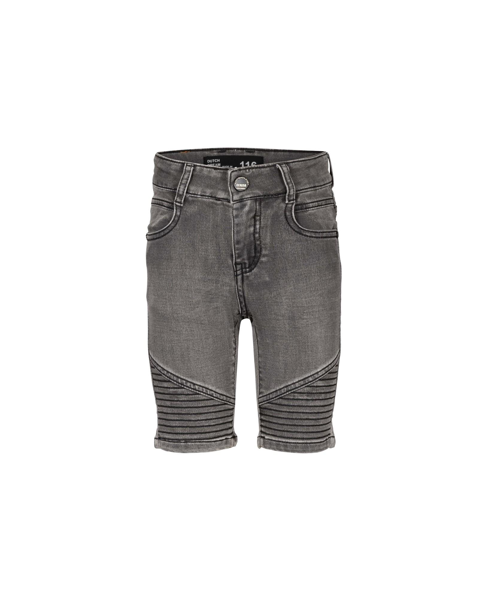 DDD DDD jongens extra slim fit jogg korte jeans Vunja Black