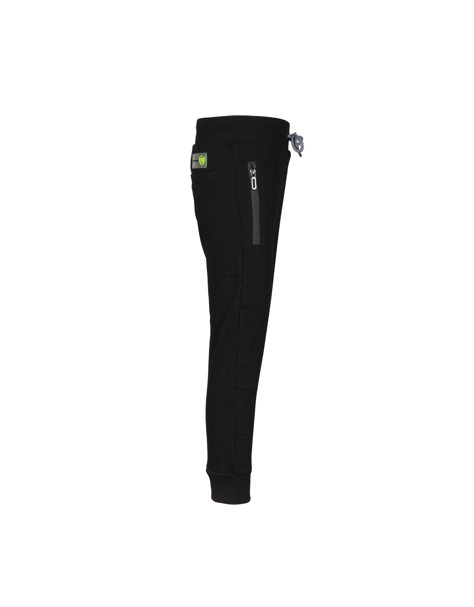 DDD DDD jongens joggingbroek Kimbia Black dubbele kniestukken