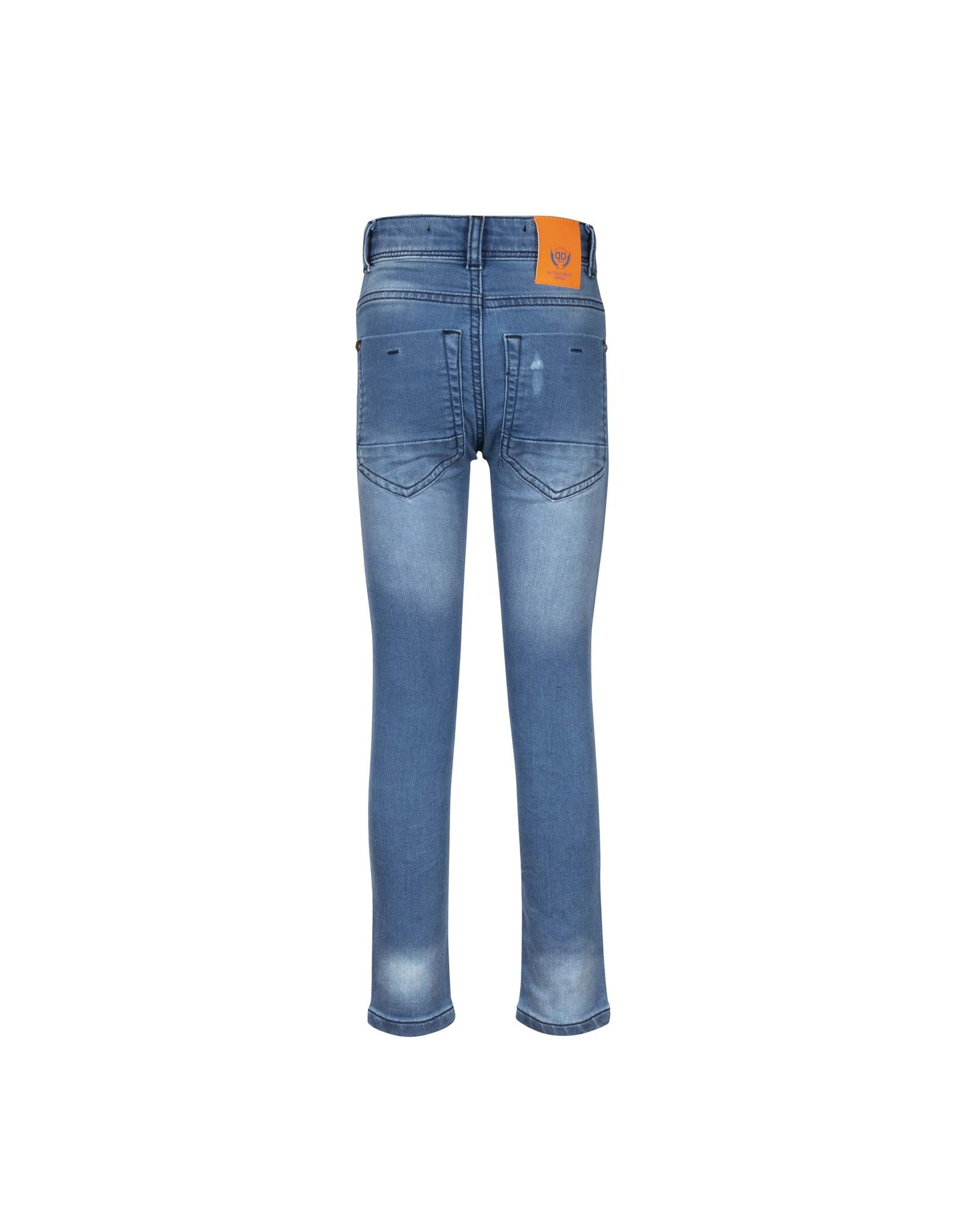 DDD DDD jongens extra slim fit jogg jeans Nini Blue