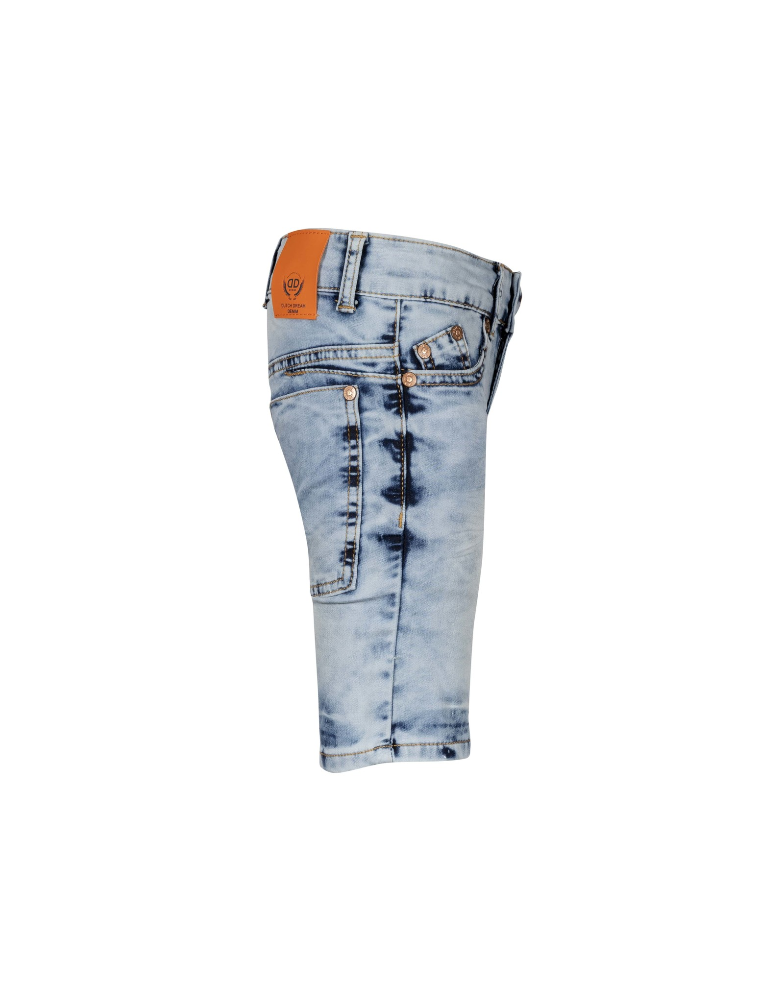 DDD DDD jongens extra slim fit korte jogg jeans Sehemu Blue