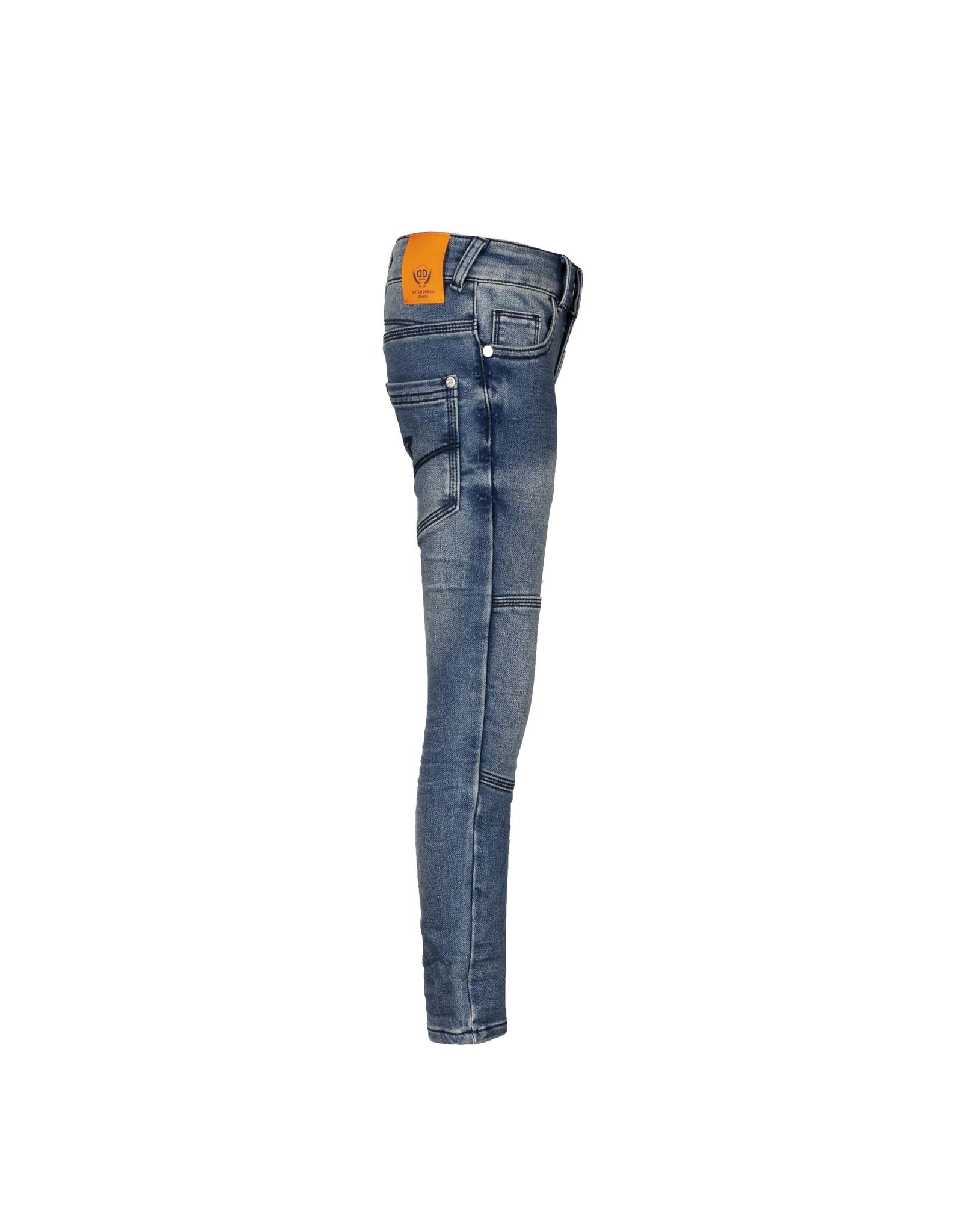 DDD DDD jongens extra slim fit jogg jeans Zile Blue