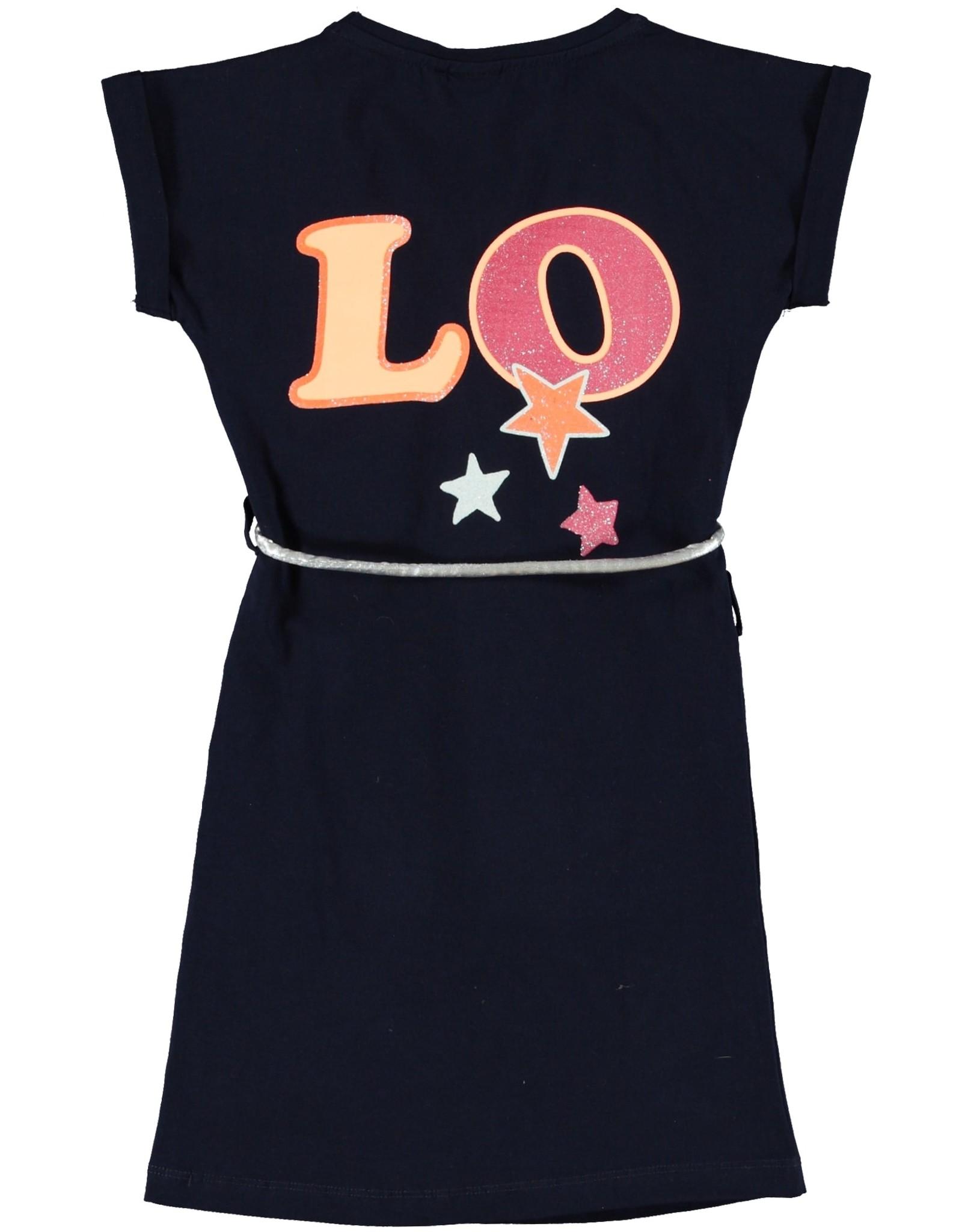 O'Chill O'Chill meiden jurk Billie Navy