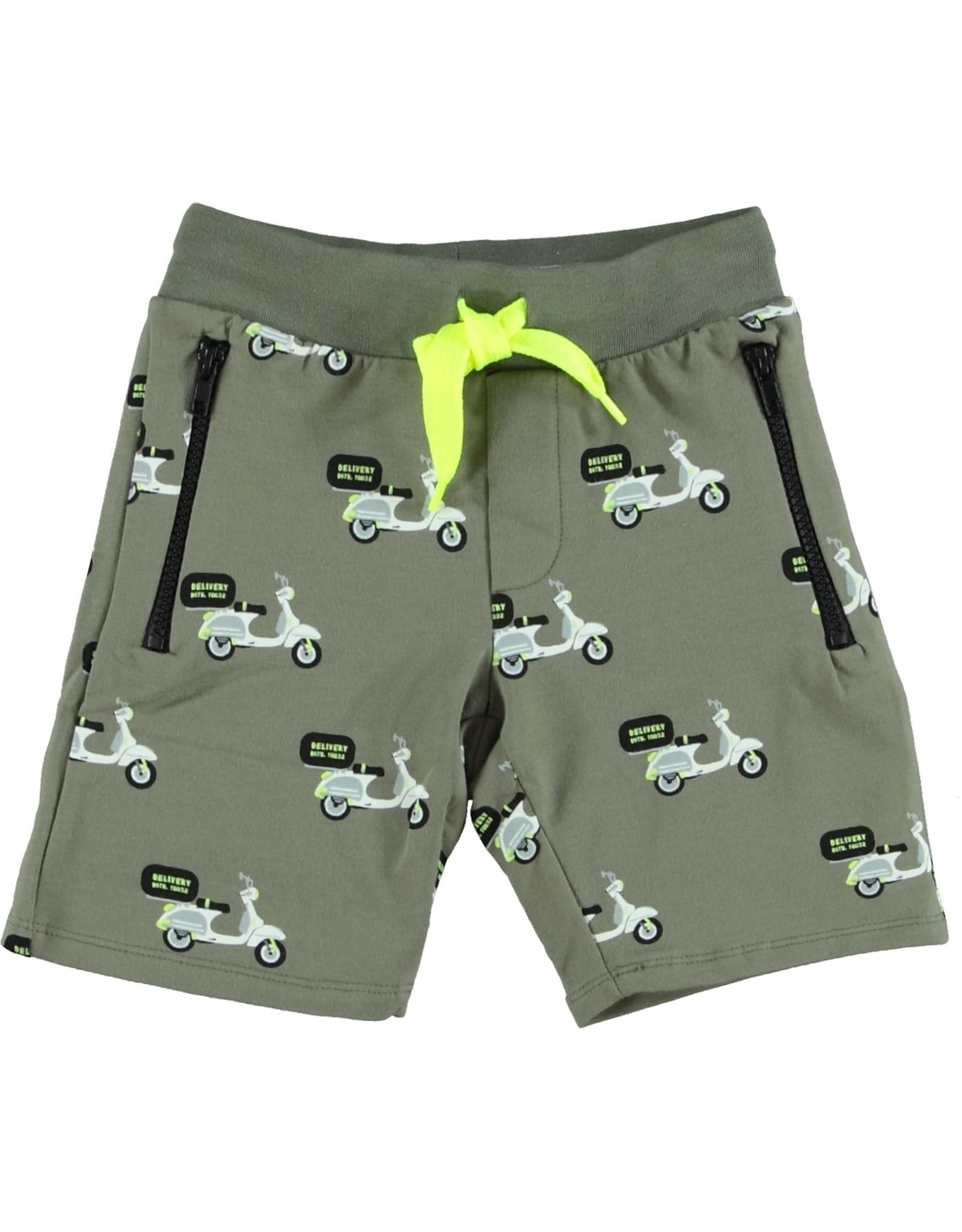 B'Chill B'Chill jongens korte broek Collin Olive Green