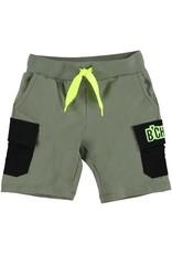 B'Chill B'Chill jongens korte broek Glenn Olive Green