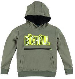 B'Chill B'Chill jongens hoodie Hendrik Olive Green