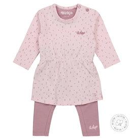 Dirkje Dirkje baby meisjes newborn setje xx Mauve light pink