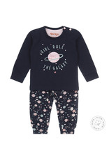 Dirkje Dirkje meisjes pyjama Girl Rule Navy