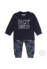 Dirkje Dirkje jongens pyjama Not Tired Navy