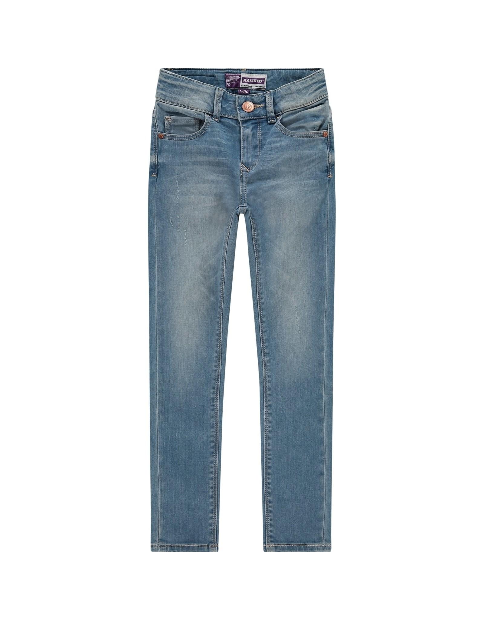Raizzed Raizzed meiden superskinny high waist jeans Chelsea Light Blue Stone S21