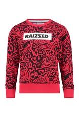 Raizzed Raizzed meiden sweater Ancona Deep Black S21
