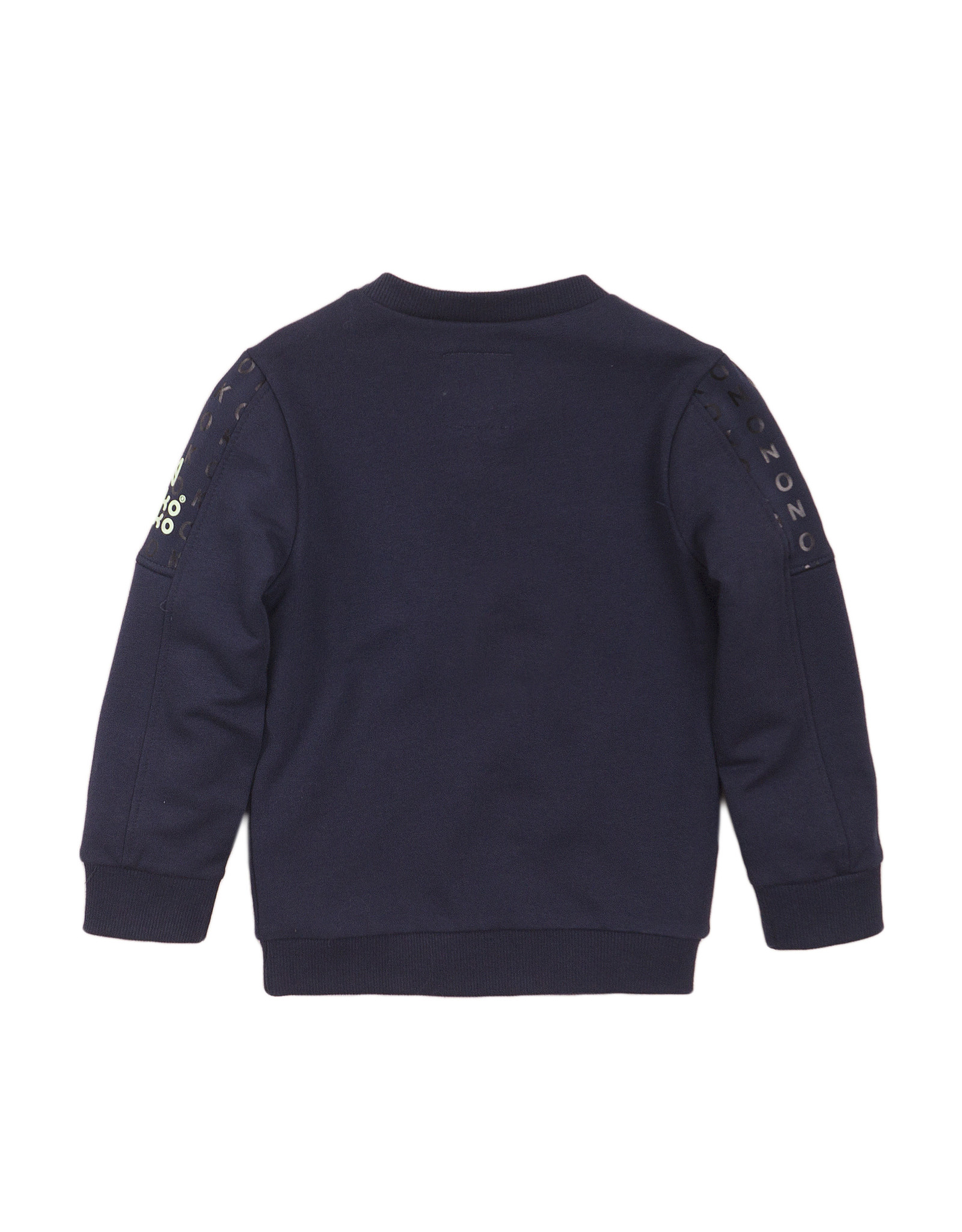 Koko Noko Koko Noko jongens sweater basic Navy