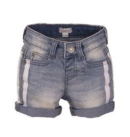 Koko Noko Koko Noko jongens korte broek met bies bluejeans
