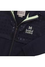 Koko Noko Koko Noko jongens vest Logo Navy