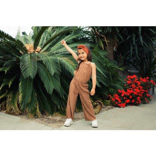 Koko Noko Koko Noko meisjes jumpsuit Camel