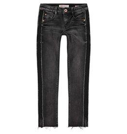 Vingino Vingino meiden Highwaist skinny jeans Alice Black