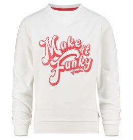 Vingino Vingino meiden sweater Nieneke Real White