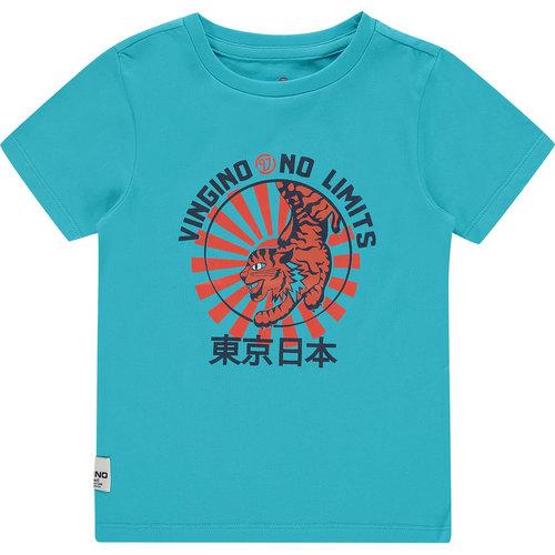 Vingino Vingino jongens t-shirt Hamza Sea Blue