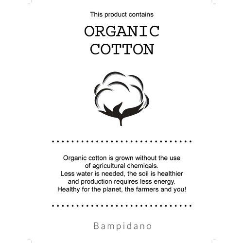 Bampidano Bampindano newborn shirt Fender print Sloth Sand aop