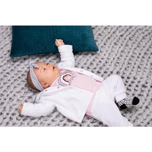 Bampidano Bampidano newborn joggingbroek Floran Sloth White