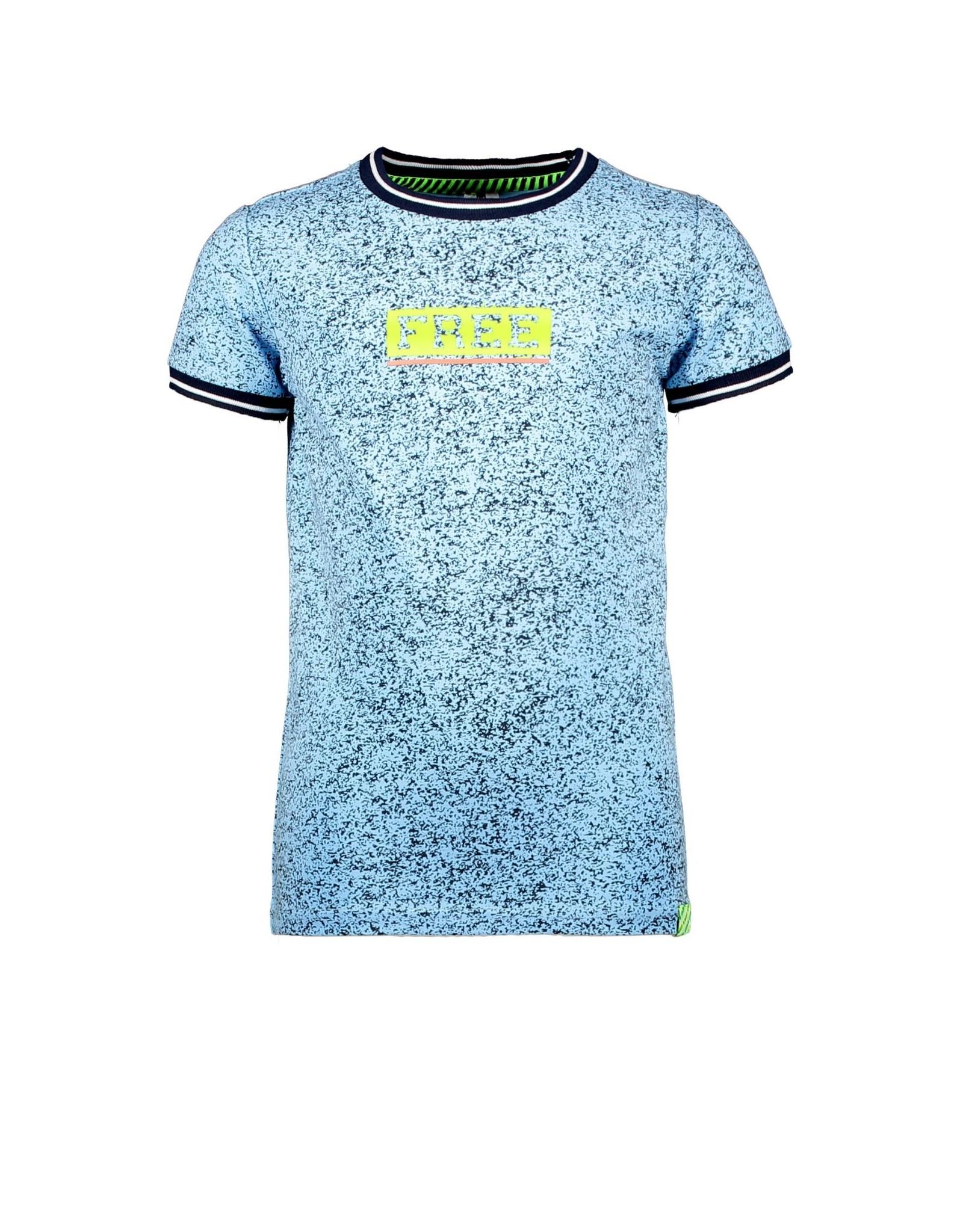 B.Nosy B.Nosy jongens t-shirt Free Melee Alaska Blue