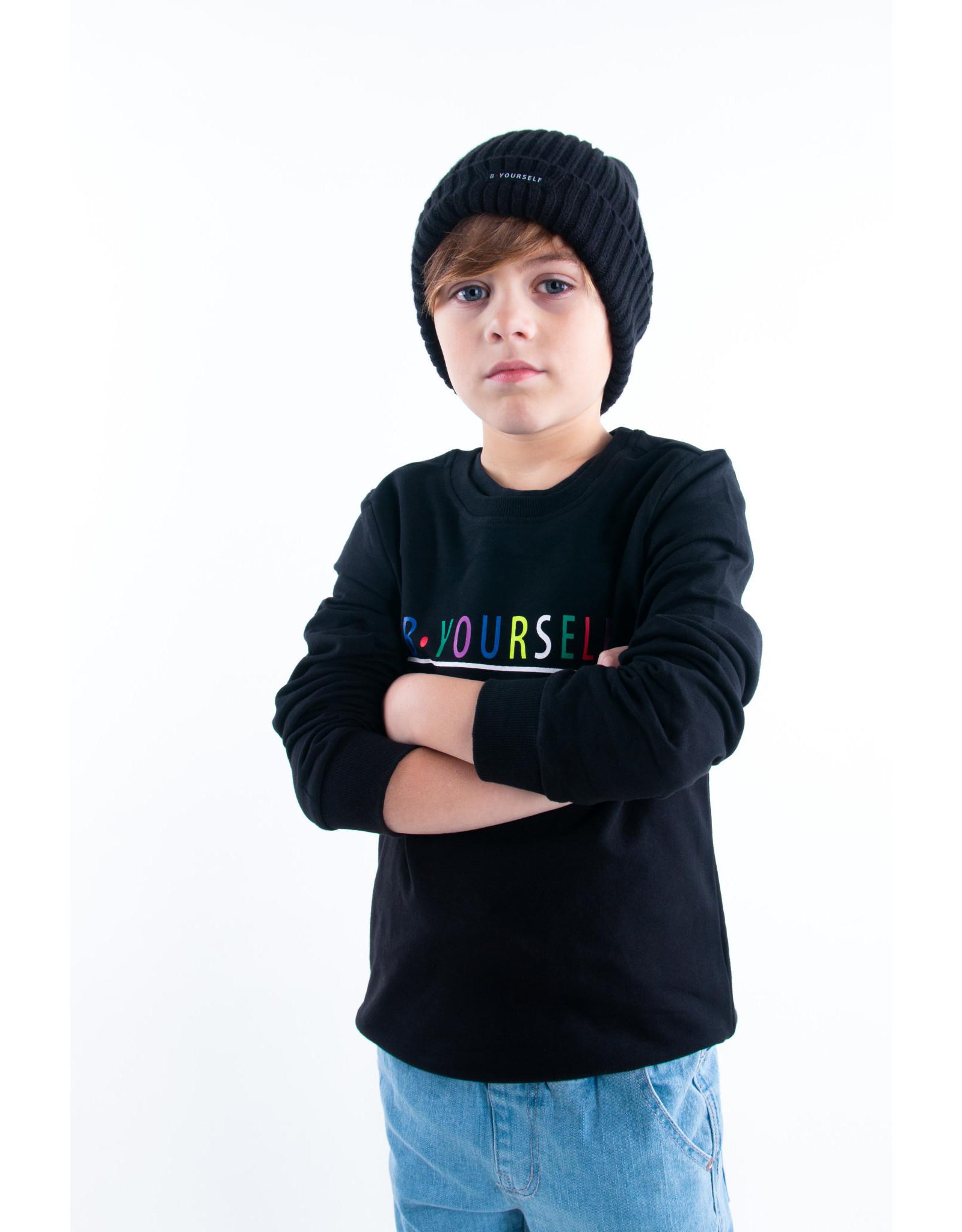 B.Nosy B.Nosy B.Yourself sweater zwart