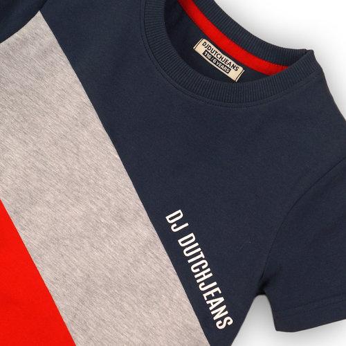 DJ Dutchjeans DJ Dutchjeans jongens t-shirt 3 block Vintage