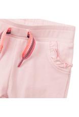 Dirkje Dirkje baby meisjes joggingbroek met rouches Light Pink