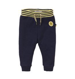 Dirkje Dirkje baby meisjes joggingbroek Lemon Navy Yellow