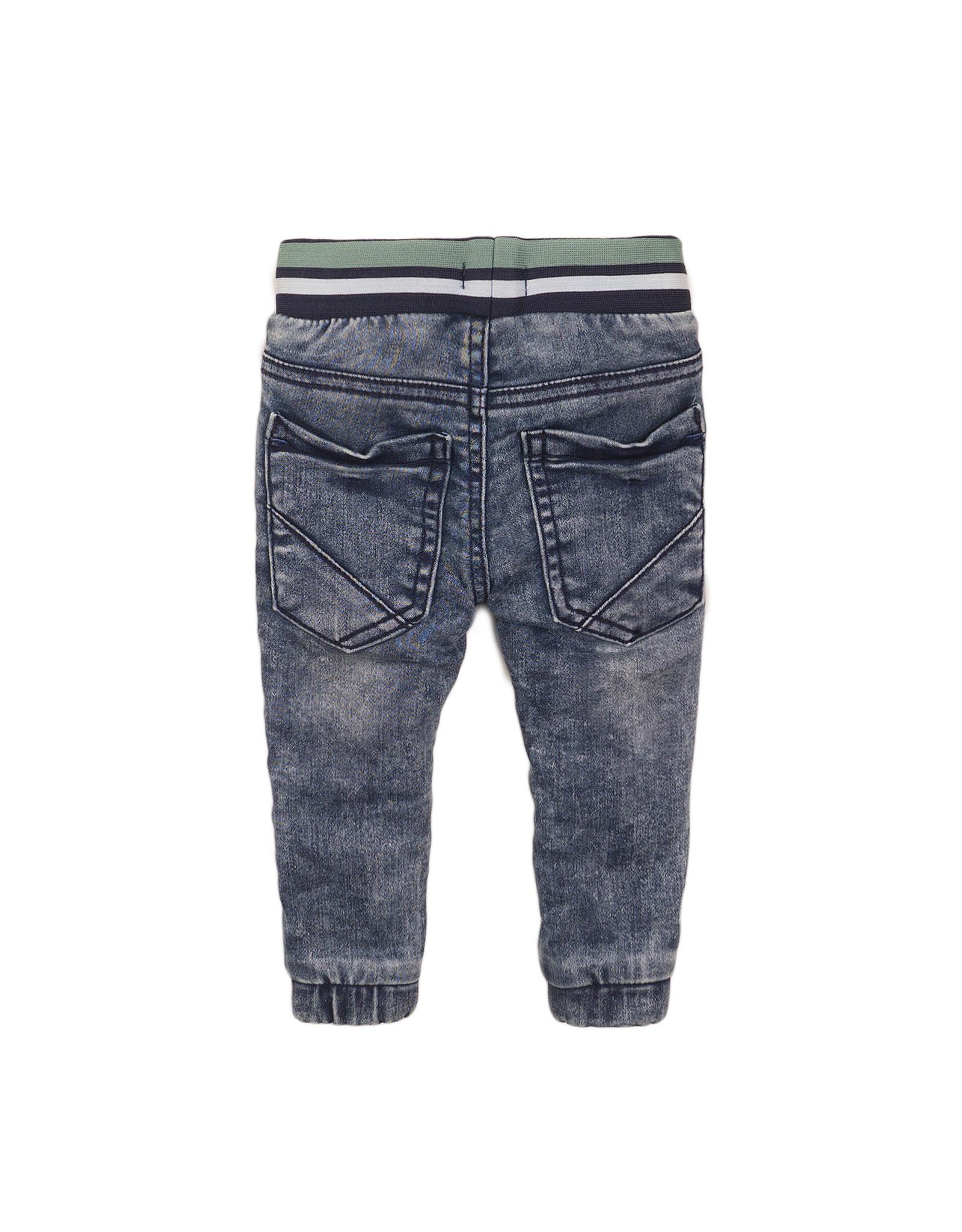 Dirkje Dirkje baby jongens jeans met band bluejeans