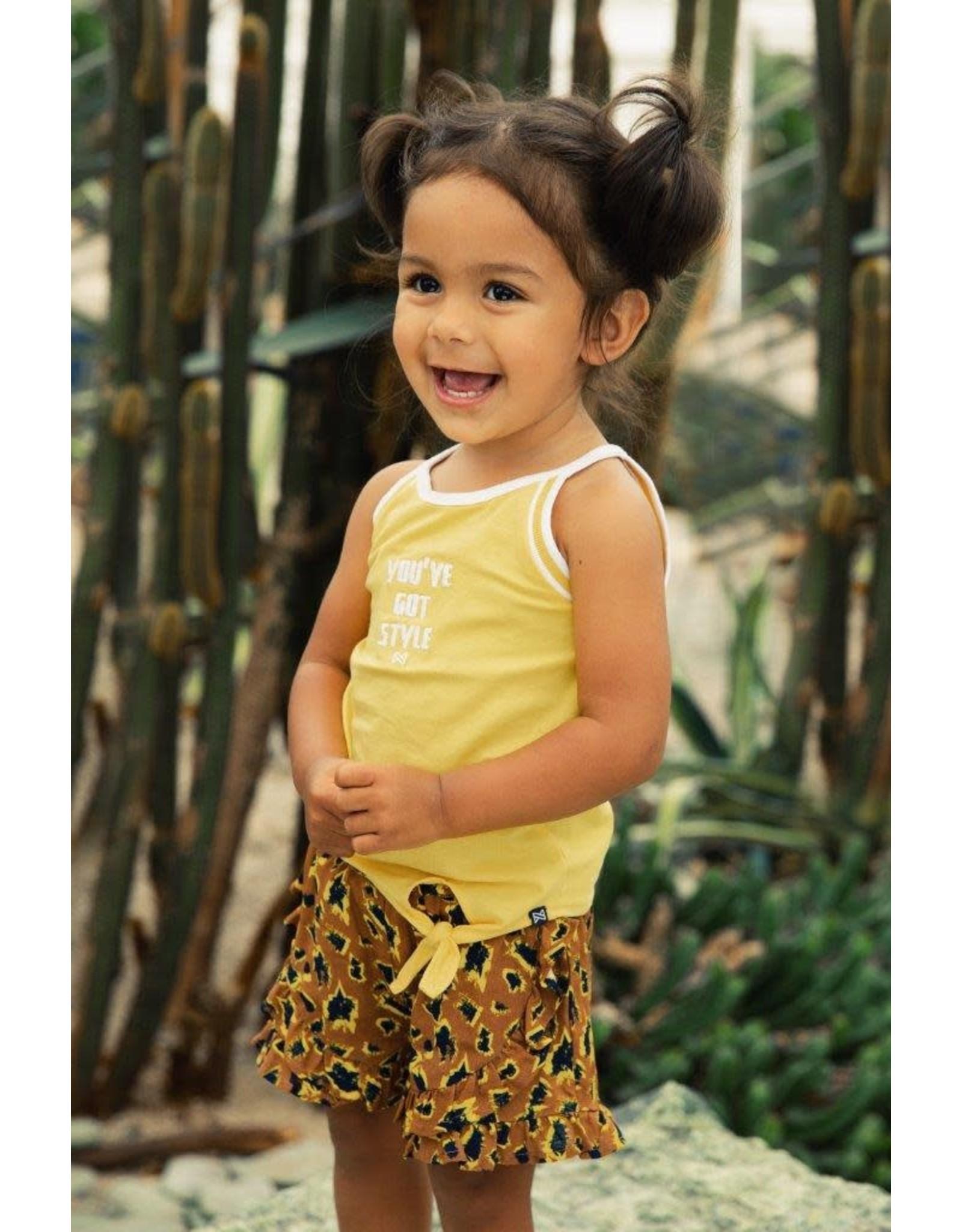 Koko Noko Koko Noko meisjes top Style Yellow
