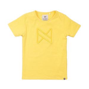 Koko Noko Koko Noko meisjes t-shirt logo Yellow