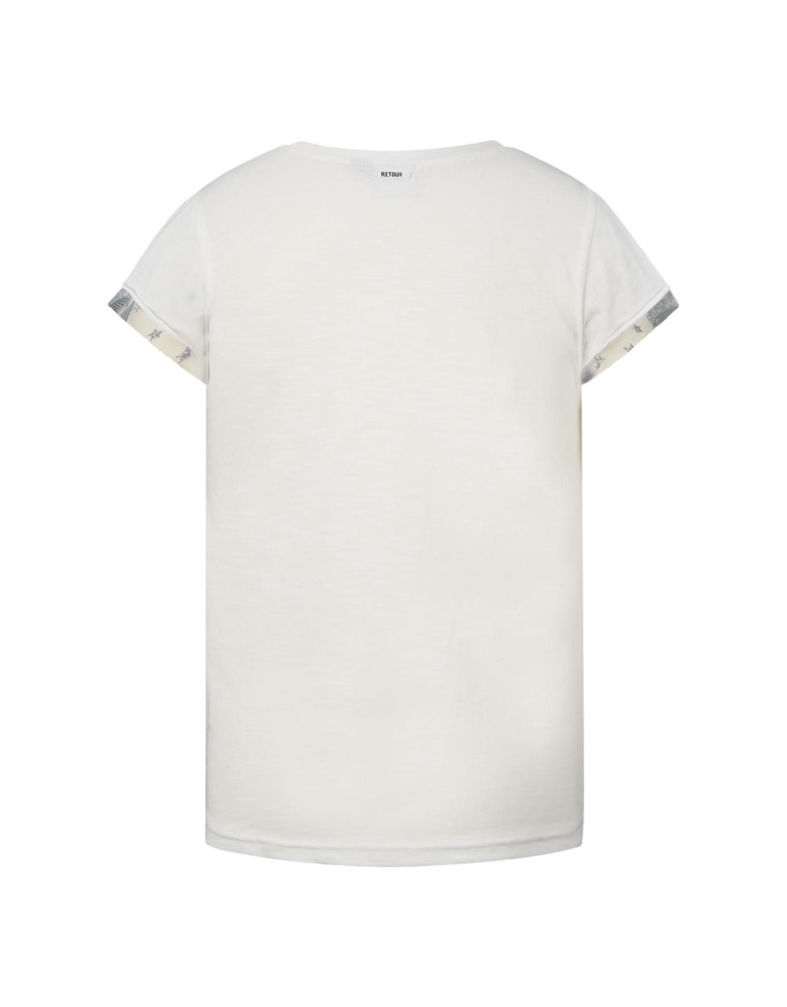 RETOUR Retour meiden t-shirt Patty Off White S21