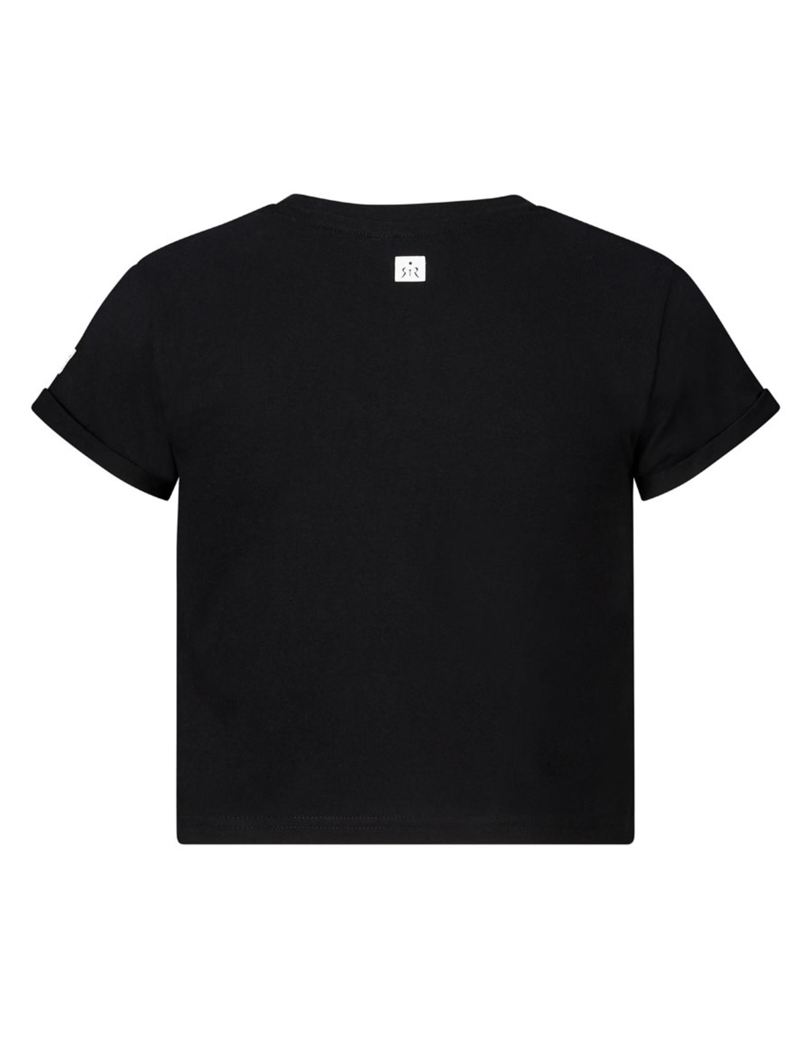 RETOUR Retour meiden crop top T-shirt Jolanda Black S21