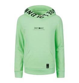 RETOUR Retour jongens hoodie Pepijn Bright Mint S21