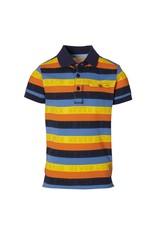 Quapi Quapi jongens polo t-shirt Farres Multi Stripe