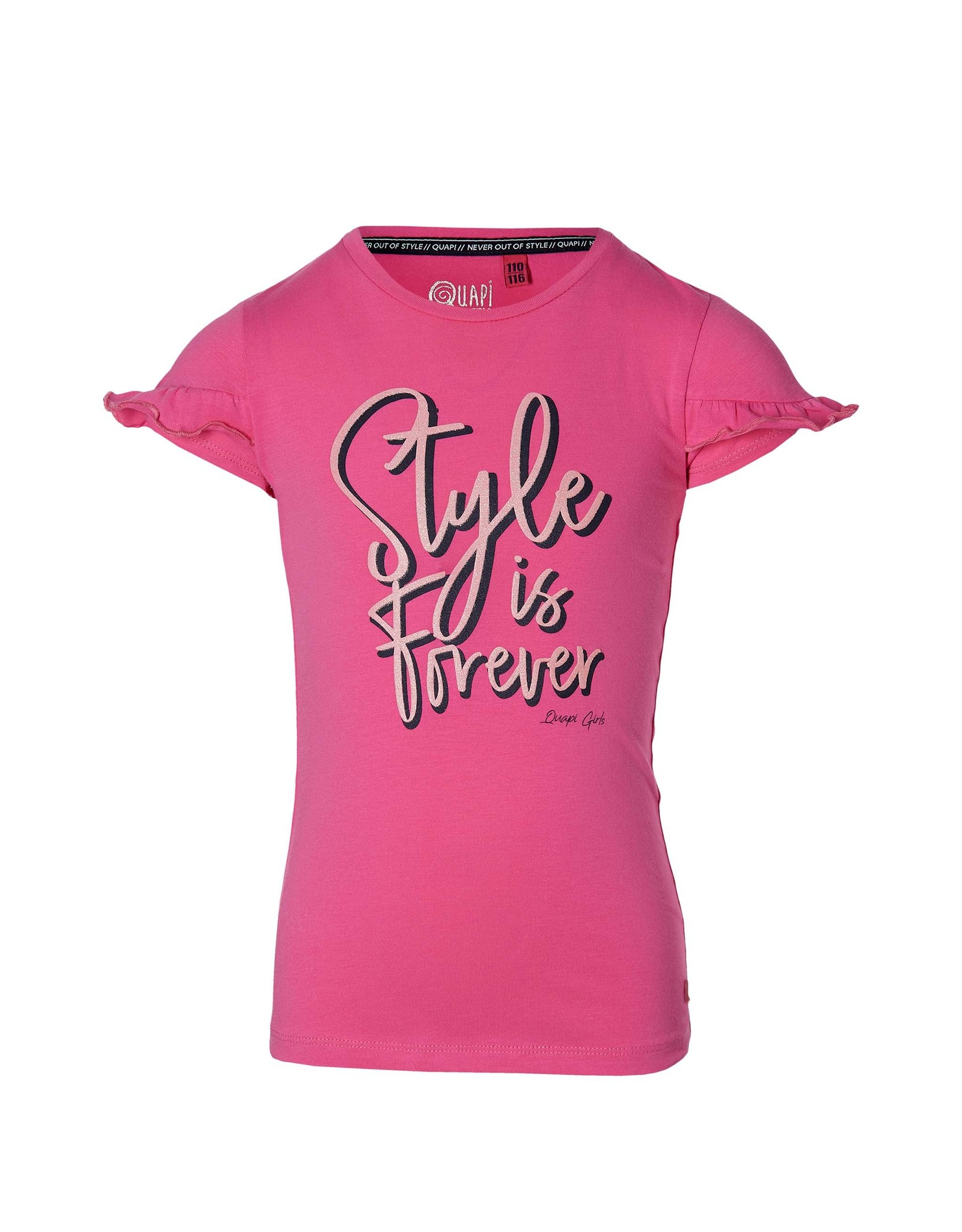 Quapi Quapi meisjes t-shirt Fenny Hot Pink
