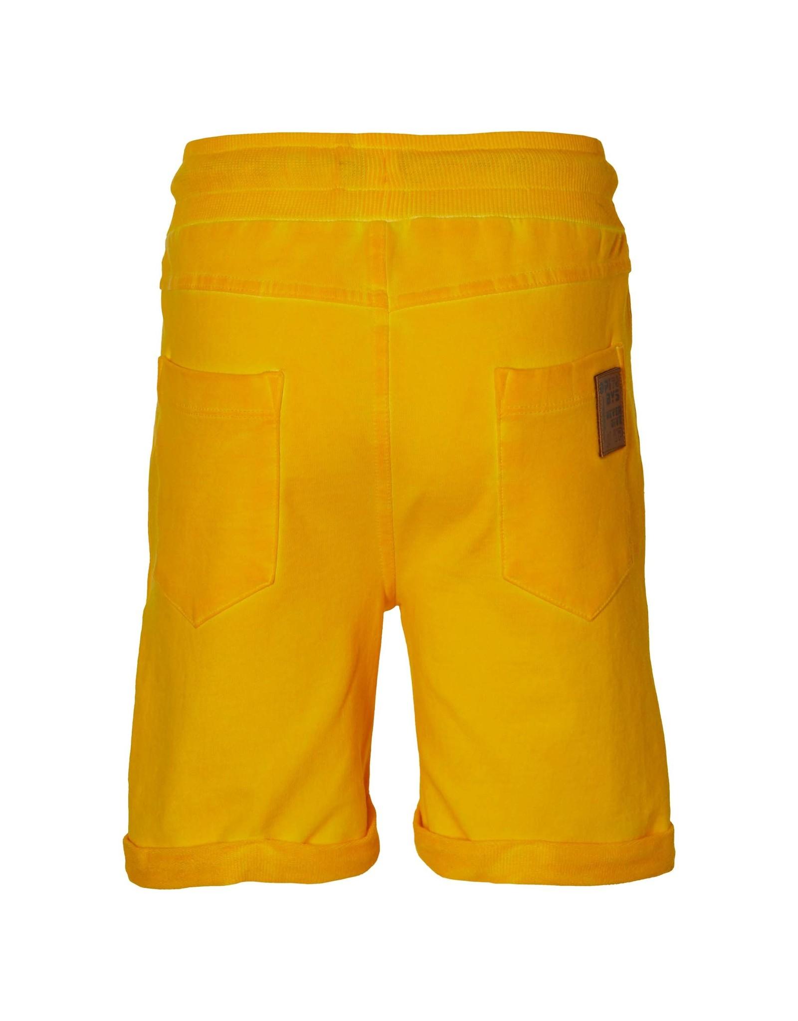 Quapi Quapi jongens korte joggingbroek Flinn Yellow