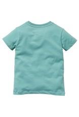 Quapi Quapi baby jongens t-shirt Gauke Stone Green
