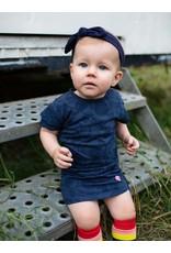Quapi Quapi baby meisjes jurk Geeke Dark Blue Fruity