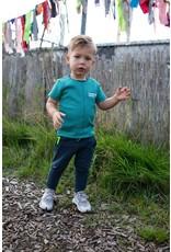 Quapi Quapi baby jongens t-shirt Gerso Ocean Green Stripe