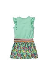 Quapi Quapi baby meisjes jurk Gijza Spring Green