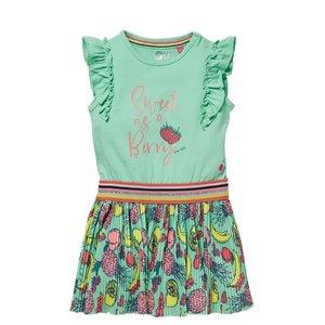 Quapi Quapi baby meisjes mouwloze jurk Gijza Spring Green