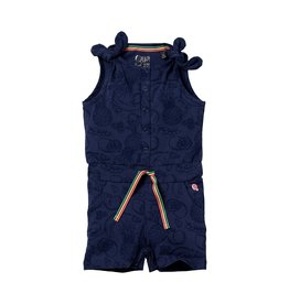 Quapi Quapi baby meisjes jumpsuit Ginny Dark Blue Fruity